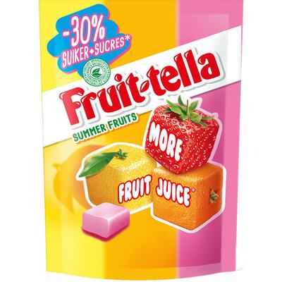 Fruittella Summerfruits -30% suiker