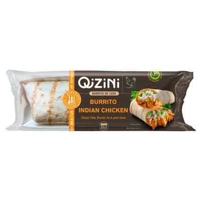 QiZiNi Burrito de Luxe Burrito Indian Chicken 245 g