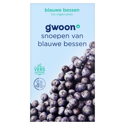 g'woon Bosbessen Diepvriesfruit 250 g