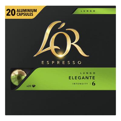 L'OR Espresso lungo elegante koffiecapsules