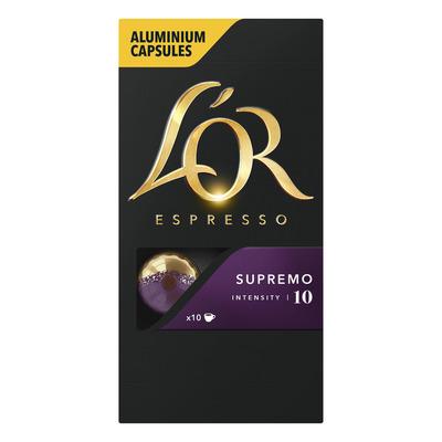 L'OR Espresso supremo koffiecups