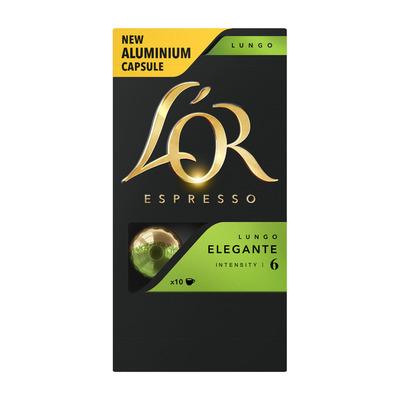 L'OR Espresso capsules lungo elegante