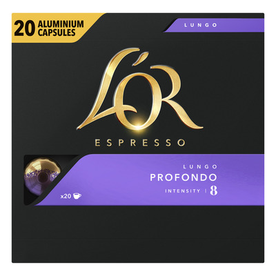 L'OR Espresso lungo profondo koffiecapsules