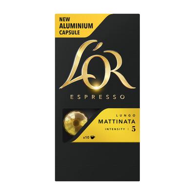 L'OR Espresso capsules lungo mattinata
