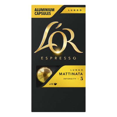 L'OR Espresso lungo mattinata koffiecapsules