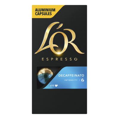 L'OR Espresso decaffeinato koffiecups