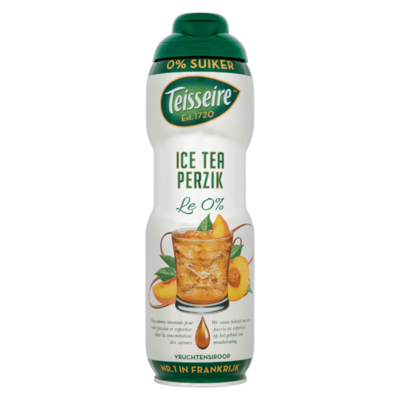 Teisseire Ice Tea Perzik Vruchtensiroop