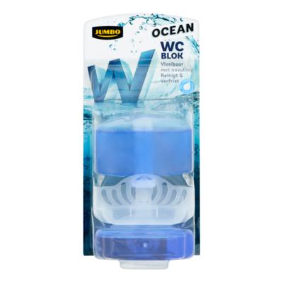 Huismerk Ocean WC Blok Vloeibaar met Navulling