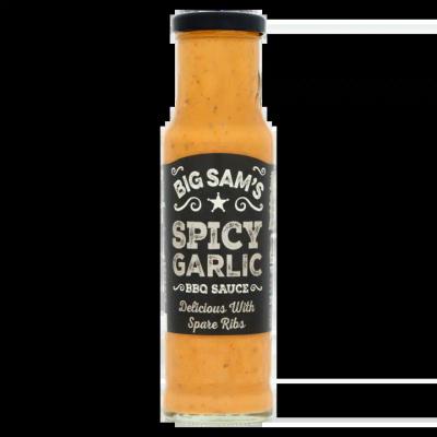 Big Sam's Spicy Garlic BBQ Sauce