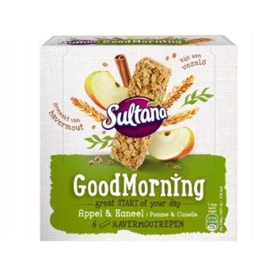 Sultana Goodmorning havermout appel