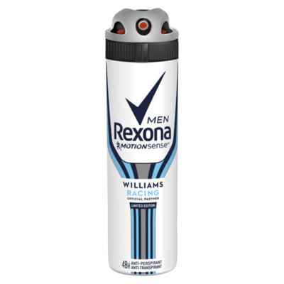 Rexona Deodorant Spray Men Williams Racing