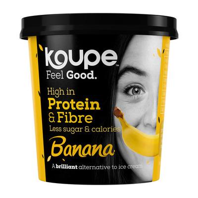 Koupe Proteïne ijs banaan
