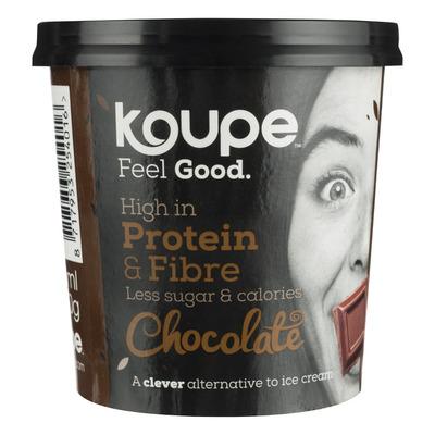 Koupe Proteïne ijs chocolade