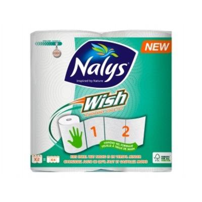 Nalys Wish keukenpapier 2-rol
