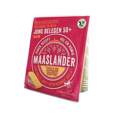Maaslander kaas stuk jong belegen 50+