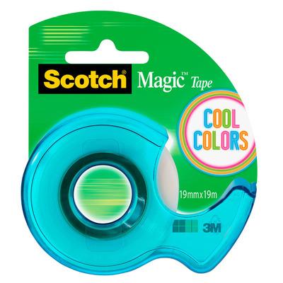 Scotch Tape dispenser cool colors