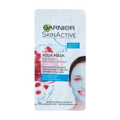 Garnier Skin Active Granaatappel & Glycerine Aqua Gezichtsmasker