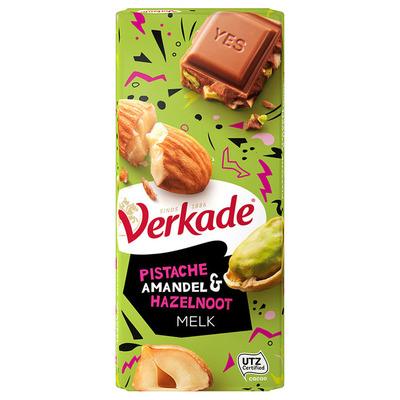 Verkade Reep pistache-amandel- hazelnoot