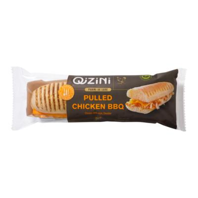 QiZiNi Panini de Luxe Pulled Chicken BBQ
