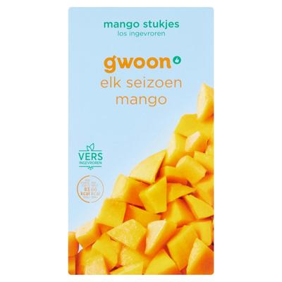 g'woon Mango Diepvriesfruit 250 g