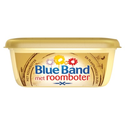 Blue Band met roomboter kuip 225 gram