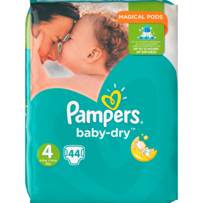 Pampers Baby dry valuepack maxi