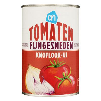 Huismerk Tomaten fijngesneden knoflook-ui