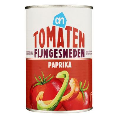 Huismerk Tomaten fijngesneden paprika