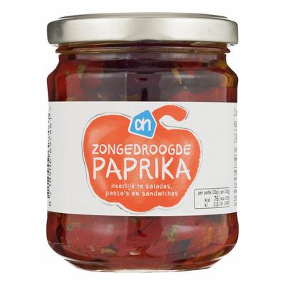 Huismerk Zongedroogde paprika