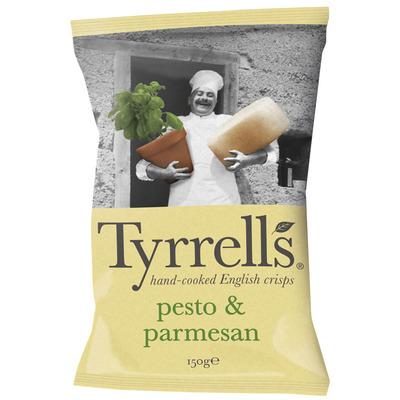 Tyrrells Chips pesto parmesan