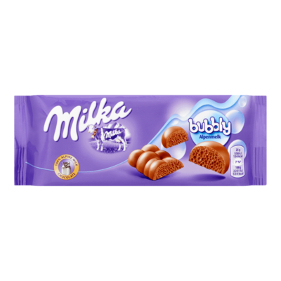 Milka Bubbly Melk Chocolade Reep