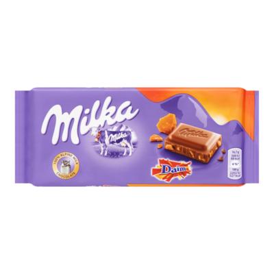 Milka Daim Melk Chocolade Reep