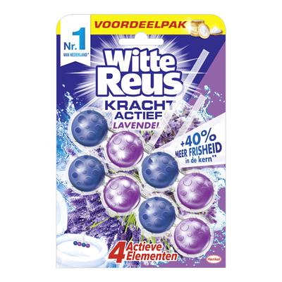 Witte Reus Kracht actief boost lavendel duopak