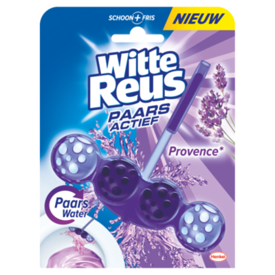 Witte Reus Toiletblok paars actief provence
