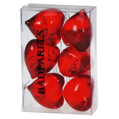 Jean Lasschuit Badparel hart rood