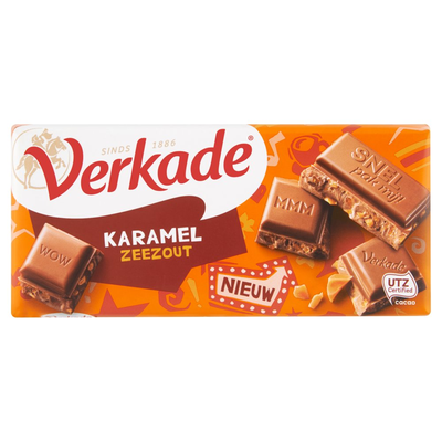 Verkade Karamel Zeezout 111 g