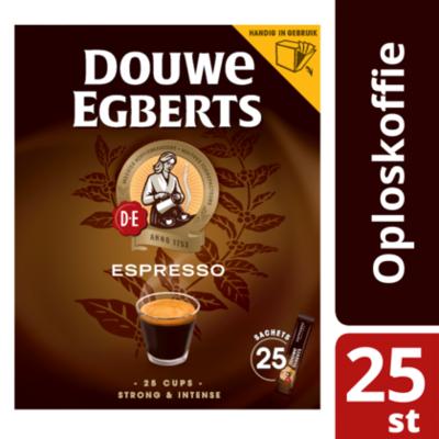 Douwe Egberts Oploskoffie Espresso sticks