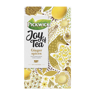 Pickwick Joy of tea ginger spices kruidenthee