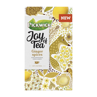 Pickwick Joy of tea ginger spices