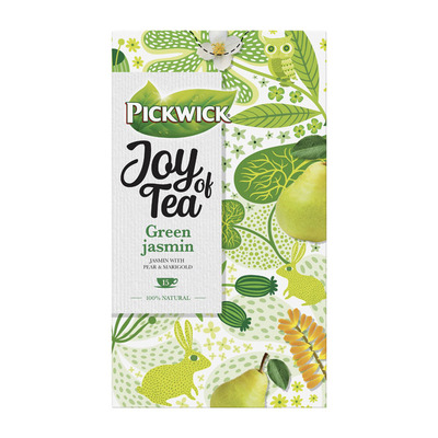 Pickwick Joy of tea green jasmin groene thee