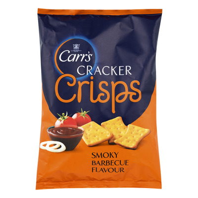 Carr's Cracker crips smoky barbecue