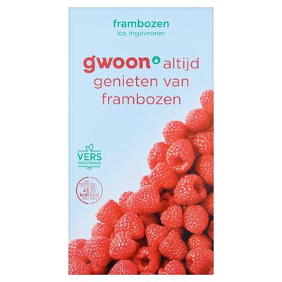 g'woon Frambozen Diepvriesfruit 250 g