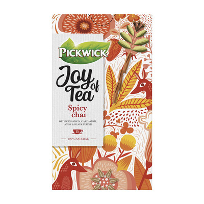 Pickwick Joy of tea spicy chai kruidenthee