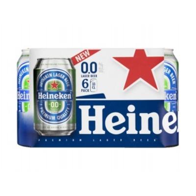 Heineken 0,0% 6-pak blik