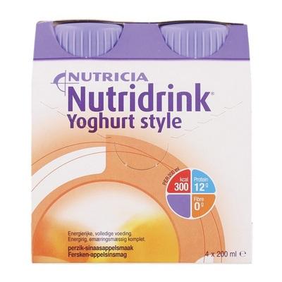 Yoghurtstyle perzik 4x200 ml