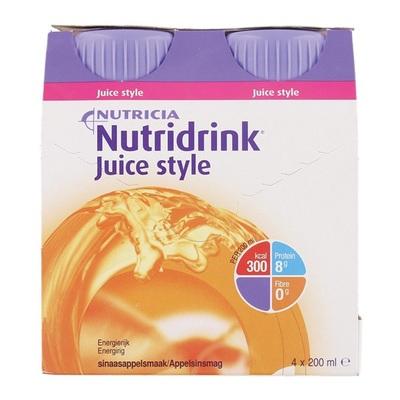 Nutricia Juice Style Sinaas 4x200 ml