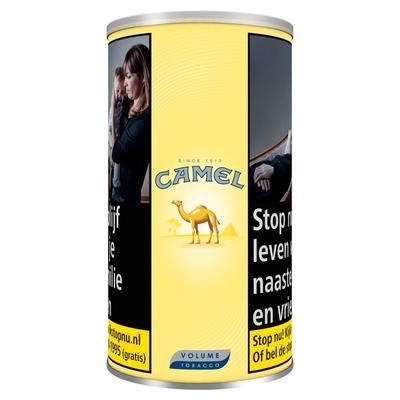 Camel MYO Yellow L Tin