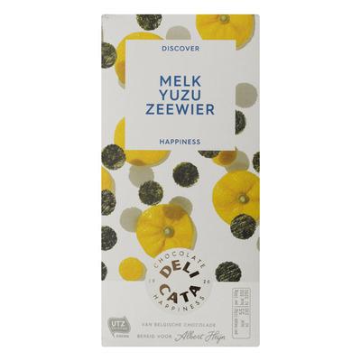 Huismerk Melk yuzu zeewier