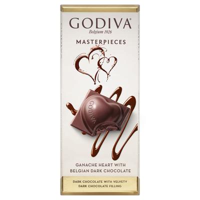 Godiva Masterpieces tablet ganache heart