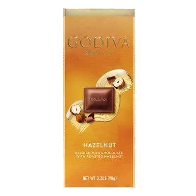 Godiva Tablet milk hazelnut